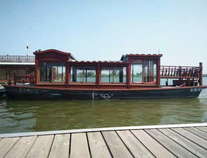 湿地游船半程票